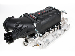 The SLP Supercharger System for 2014-16 GM Trucks powered by 6.2L V8 engines boosts performance of the direct injected high-compression platform to 590HP.