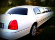 8 passenger limo. Comfortable for medium sized groups for grooms and brides.