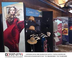 trade show displays, slatwall displays, showroom, tustin, orange county, displays and exhibits