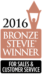 Bronze Stevie Award Logo