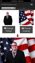 New American flag underlay software