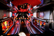 photo of inside of party bus