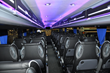 Group sizes up to 45 passengers in coach buses and party buses image