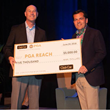 "Club Car Presents $5,000 to PGA REACH for ""Closest to the Hole Section Challenge"" at the 49th PGA Professional Championship"