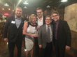 (left to right) Steve Johnston, Marilyn Cox, Steve Kakos, Tim Kazurinsky, Rick Bayless
