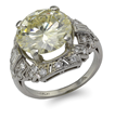 PLATINUM CAPE DIAMOND RING REALIZED $20,145.