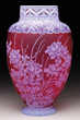 WEBB CAMEO VASE REALIZED $33,180.
