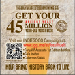 Announcement Card for 45 Million Year Old Yeast Indiegogo Campaign