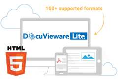 DocuVieware Lite is a HTML5 document viewer for ASP.NET