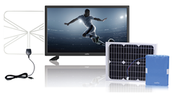 Cello Solar Power TV Package