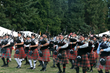 Portland Highland Games - Premier Pipe Bands take the field