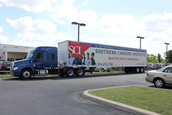 Southern Careers Institute 53-foot semi trailer
