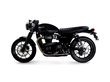 New Retro-Style Bolt-On Exhaust for the 2016 Triumph Street Twin from British Customs: The Drag and Slash Cut Performance Tips
