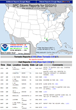 MetLoop Storm Prediction Center - Daily Summary Example