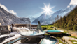 Aquadome, a spa and bathing wonderland, offers many unique Austrian experiences: from Sauna Aufguss to healing wood treatments