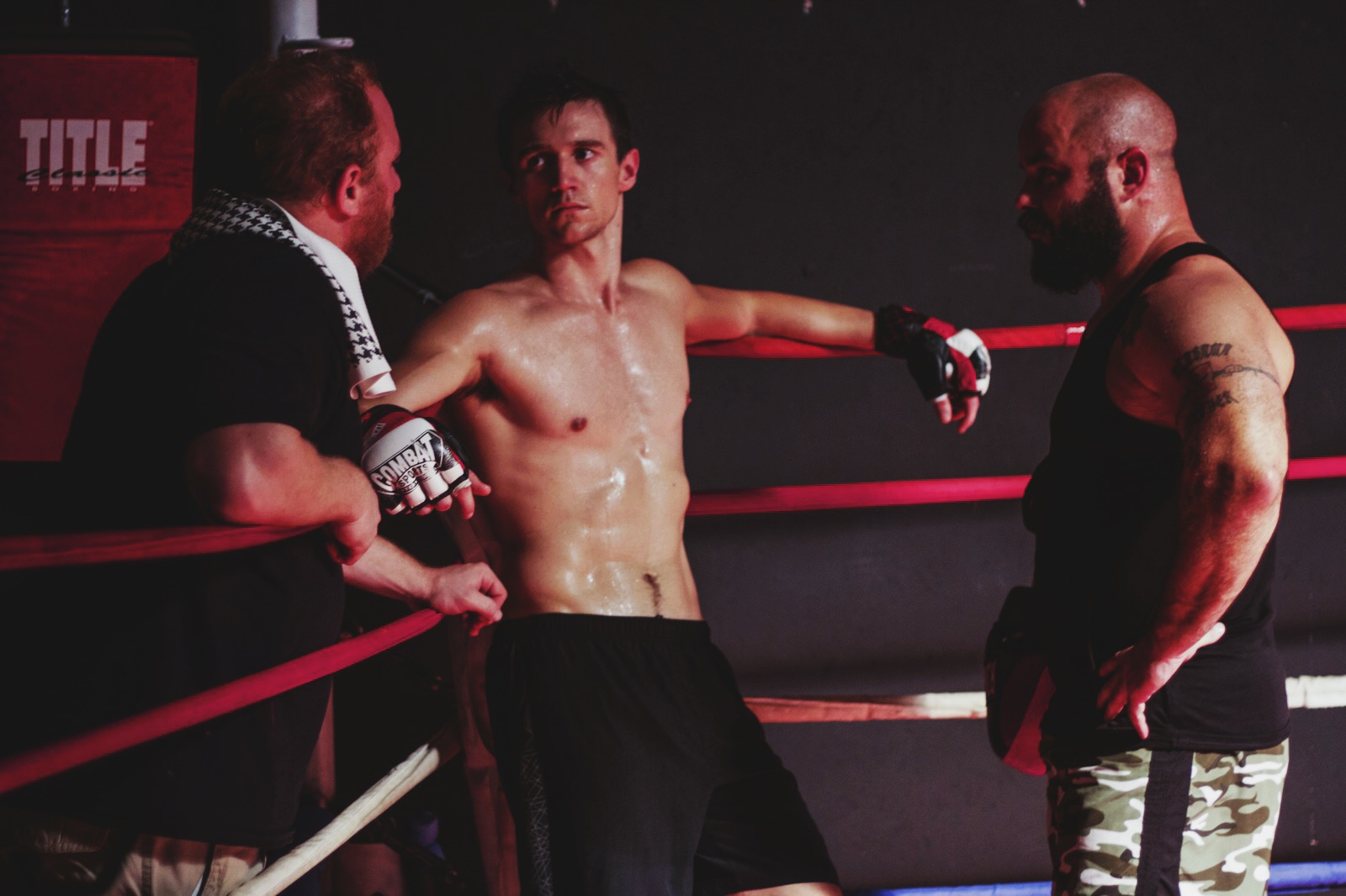 Rough And Tumble >> 'The Fight Within' Hits Theaters Aug. 12 in a Faith-Film Cage Match from GVN Releasing