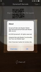 Dynamsoft Barcode Reader for iOS SDK