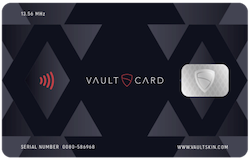 VAULTCARD launches contactless card and RFID fraud protection device