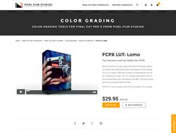 FCPX LUT Lomo - Pixel Film Studios Plugin - FCPX