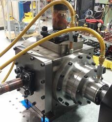 TORAD 40 Ton Spool Compressor on Test Stand