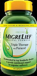 Akeso MigreLief Original Formula with Puracol™
