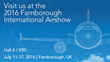 CaseBank at Farnborough Airshow