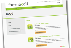 Armacell's new blog for engineers, contractors, fabricators and OEMs