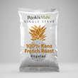 Pookis Mahi 100 Kona coffee French Roast pods available for custom promotional products and private label. Design at https://custom.pookismahi.com/products/private-label-kona-coffee-pods