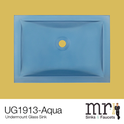 The UG1913-Aqua sink from MR Direct