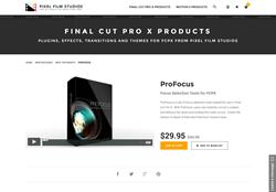 Pixel Film Studios Plugin - ProFocus - FCPX