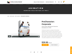 ProCharacter Corporate - FCPX Plugin - Pixel Film Studios