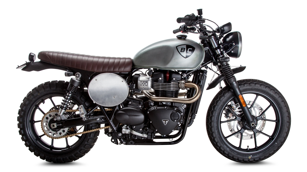 how to build a custom motorcycle: british customs releases triumph