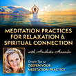 online course, meditation course, stress relief, spiritual connection, meditation tips, spiritual awakening, meditation tools, meditation for beginners