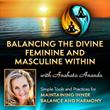 balance, divine, feminine, masculine, spiritual, healing
