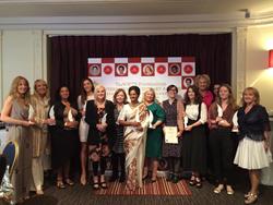 TheWIFTS Honorees 2016 –From (L-R) Gemma Ashford, Sarah Arthur, Nadine Marsh-Edwards, Chelsea Grant, Lisa Duffy, Deborah Mollison, Indira Malwatte, Valdete Idziri, Sophie Reine, Clara R