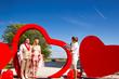 Love Collage wedding ceremony