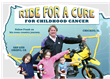 "Kids' Cancer Research Foundation Founder To Motorcycle Across U.S. in 5,000-Mile ""Ride For A Cure"""