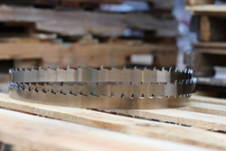 Wood-Mizer Vortex Sawdust-Removal Bandsaw Blade