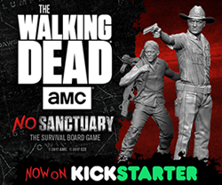 The Walking Dead: No Sanctuary Banner Art