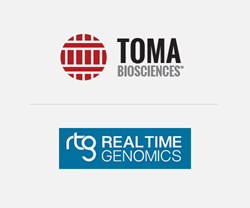 Real Time Genomics and TOMA Biosciences