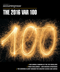 AcctTwo Named to Accounting Today's 2016 VAR 100