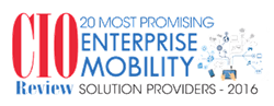 CIOReview 20 Most Promising Enterprise Mobility Solution Providers 2016