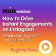 Instagram Webinar to Stream on August 17