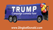 All Aboard for the Trump Campaign Comedy Tour!