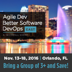 Agile Dev, Better Software, & DevOps East