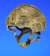 Morgan's D30 ultra-lightweight combat helment used in defence applications