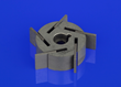 Morgan's proprietary state-of-the-art MAT 679 material, used in Electric vacuum pumps for the automotive sector