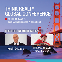 Think Realty Global Conference, August 11-13, San Francisco