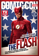 THE FLASH star Grant Gustin on one of four collectible covers of the Warner Bros.-themed Comic-Con special issue of TV Guide Magazine.