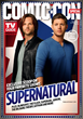 SUPERNATURAL stars Jared Padalecki (left) and Jensen Ackles on one of four collectible covers of the Warner Bros.-themed Comic-Con special issue of TV Guide Magazine.